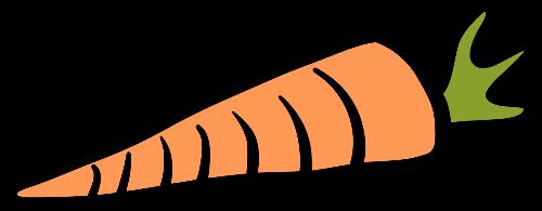 Rabbit Carrot Icon